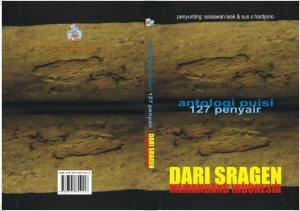 Cover antologi Puisi dari Sragen Memandang Indonesia