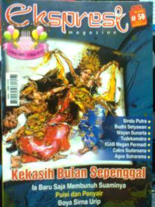 Cover Majalah Ekspresi 50 Nov 2012