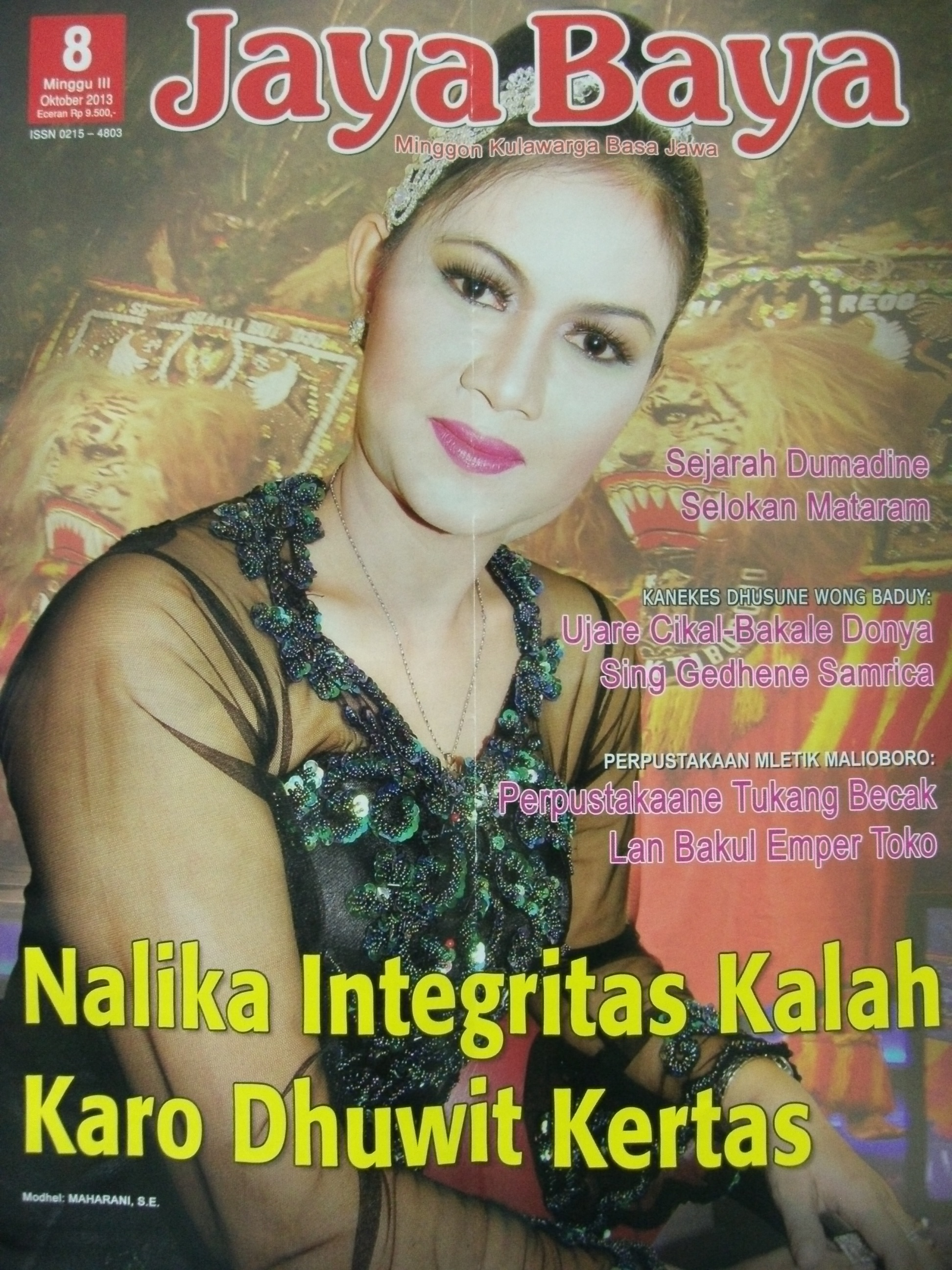 2 Geguritan Budhi Setyawan Di Majalah Jayabaya No 8 Minggu Iii