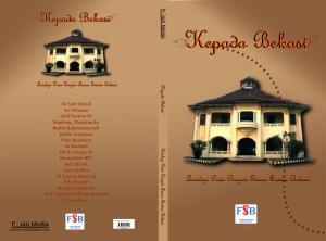 Cover Antologi Puisi Penyair FSB 2013