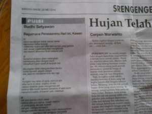 Koran Merapi 25 mei2014