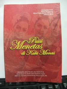 Cover Kumpulan Puisi Temu Sastrawan MPU IX Jakarta 2014