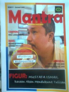Buletin Mantra cover ed V januari 2015