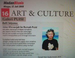 Cover Medan Bisnis 12 Juli 2015