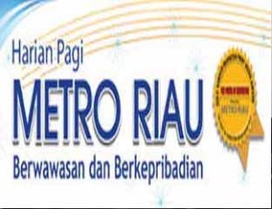 metro riau logo