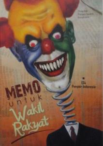 Cover Antologi Memo untuk Wakil Rakyat