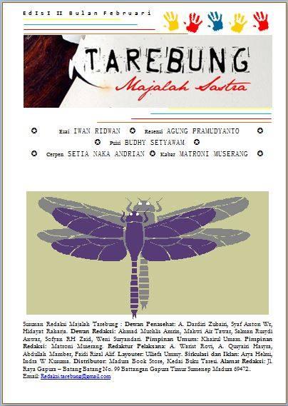 Cover Majalah Tarebung Februari 2016