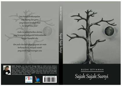 Cover Sampul Buku Sajak Sajak Sunyi Budhi Setyawan